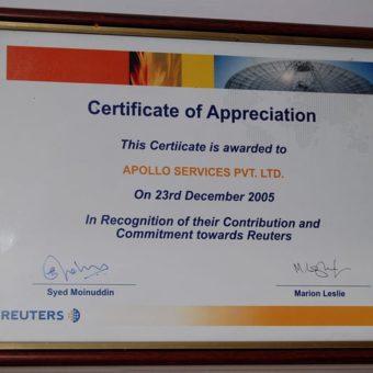 Certificate_Apollo