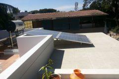 Solar_Modules_1KW_Dr_Lakshmeesha_Bangalore_03 | solar rooftop panels by Apollo Power Systems Pvt. Ltd.
