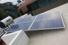 Solar_Modules_1KW_Dr_Lakshmeesha_Bangalore_04 | Solar_Modules_1KW_Dr_Lakshmeesha_Bangalore_03 | solar rooftop panels by Apollo Power Systems Pvt. Ltd.