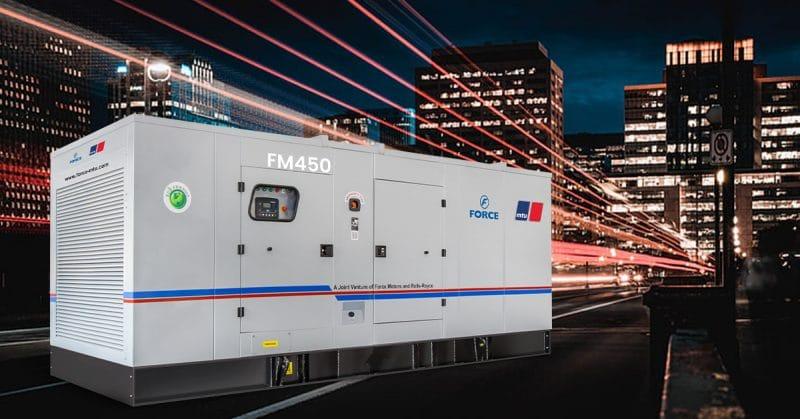 MTU 450 kVA Diesel Genset