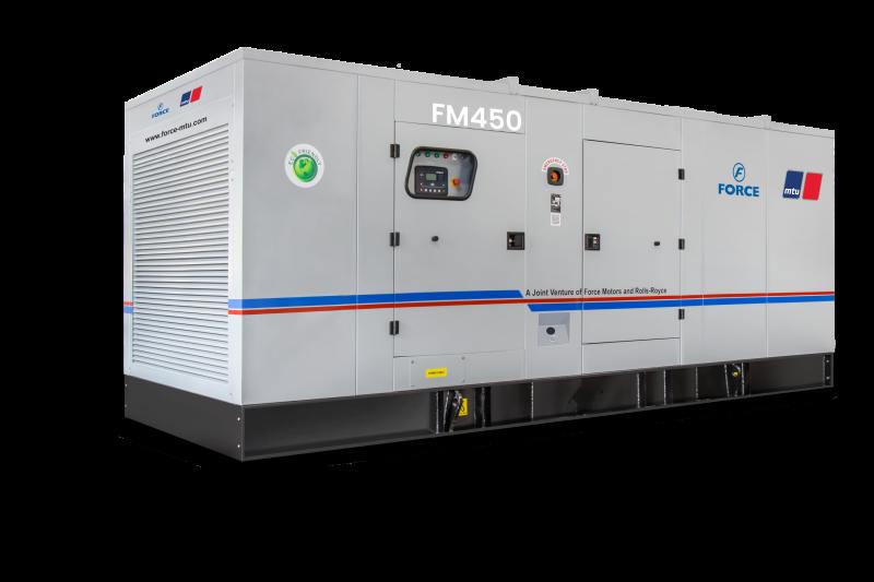MTU 450kVA Diesel Generator